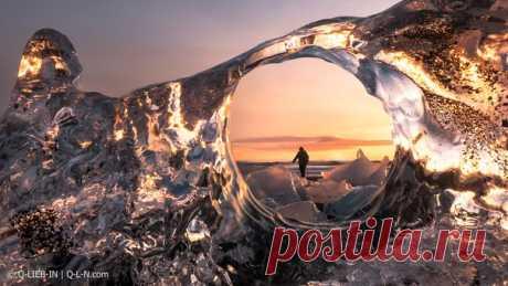 Бриллиантовый пляж, Исландия. Автор фото – Q-lieb-in: nat-geo.ru/photo/user/52530/