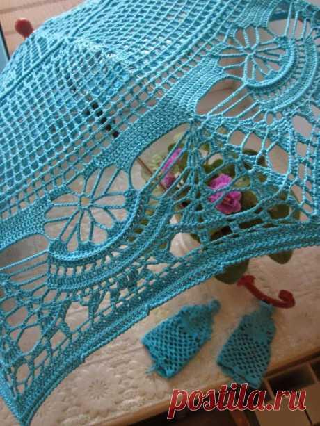 Irish crochet &: Зонты