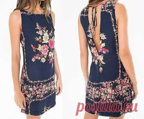 Выкройка платья размер 36-56 (Шитье и крой) – Журнал Вдохновение Рукодельницы