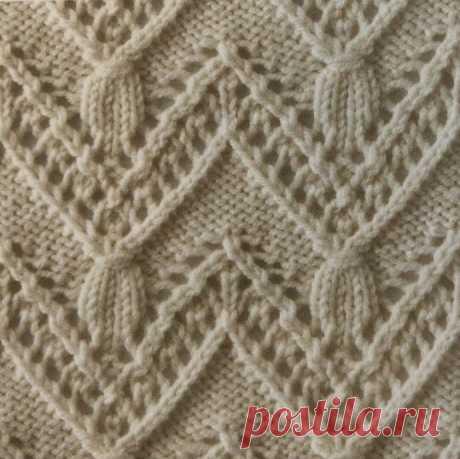 Узоры для любителей вязания спицами