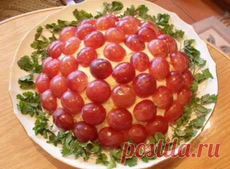 """Изысканный салат """"Тиффани"""" — Sloosh – кулинарные рецепты"""