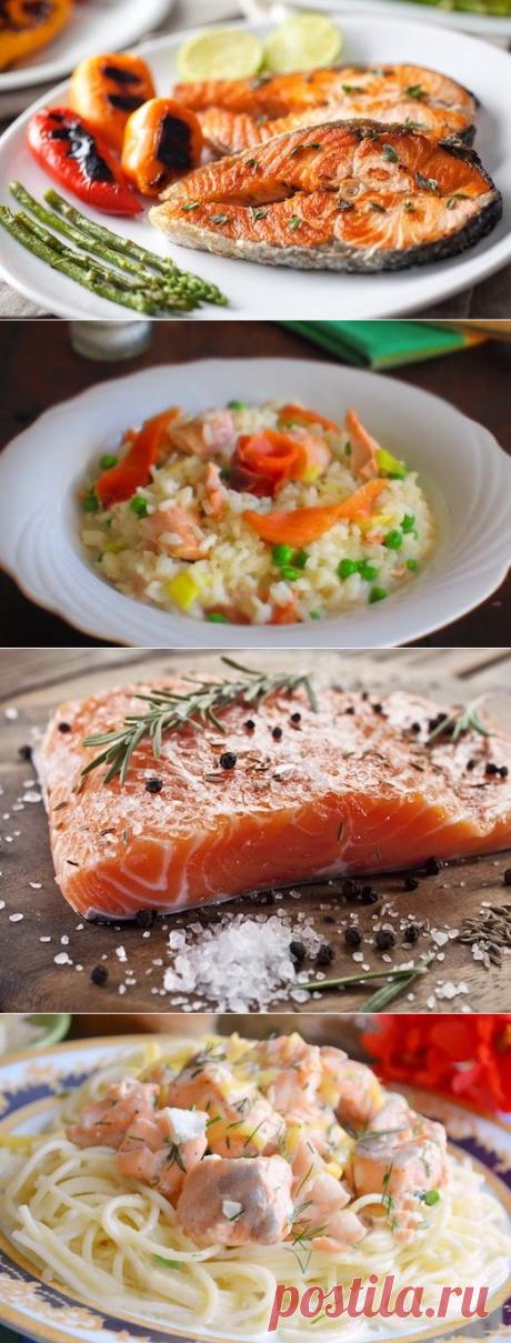 Что приготовить из красной рыбы? — Фактор Вкуса