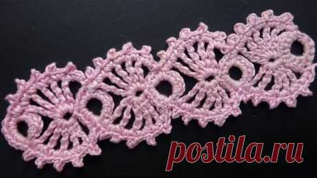 Lace a hook - a lesson of knitting 358
