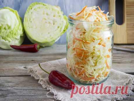 Аппетитная закуска: маринованная капуста быстрого приготовления - Smak.ua