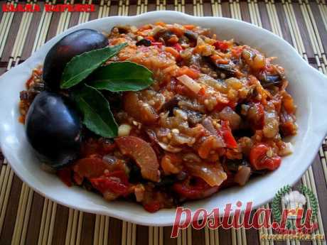 """COTE FROM EGGPLANTS WITH PRUNES \u000d\u000a\u000d\u000a\u000d\u000a\""""Sote from eggplants with prunes\"""" — very tasty, fragrant dish which can be eaten and in the winter if you wish to roll up. It prepares simply! It can be given to a table as a main course, and in …"""