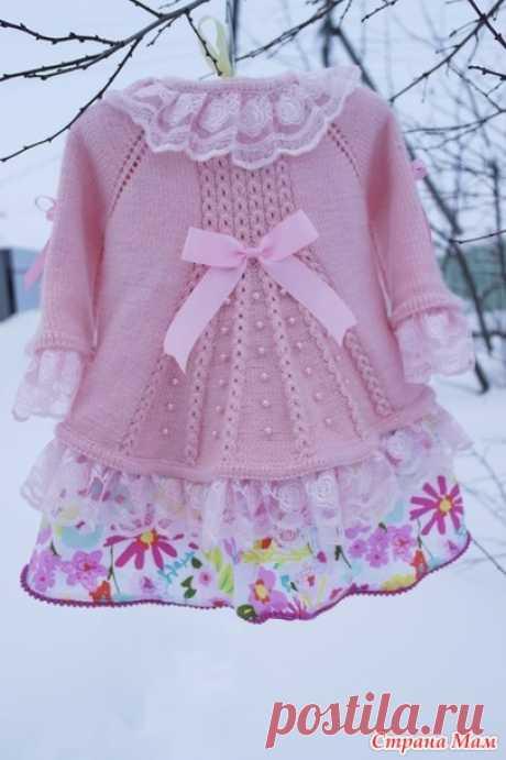 """Кофточка """"Цветущий миндаль"""" - Вязание для детей - Страна Мам"""
