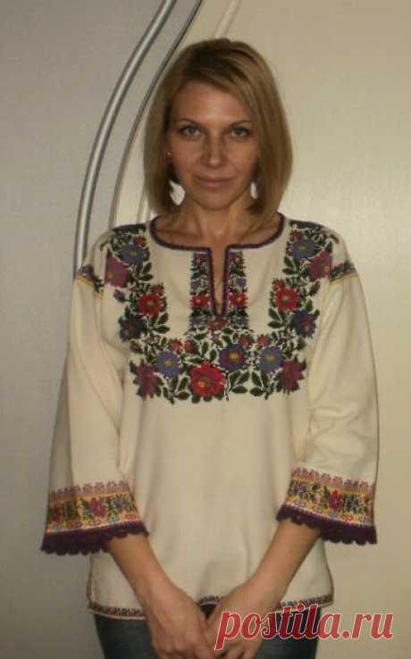 Борщівська вишивка: схеми та елементи жіночих сорочок   Ідеї декору