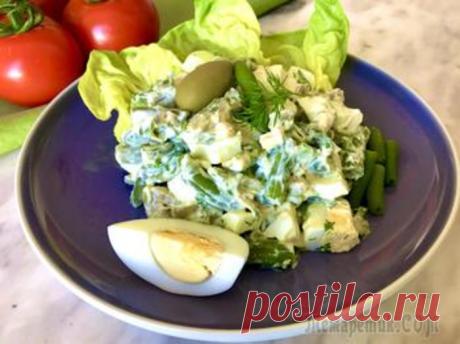 Siliculose haricot salad