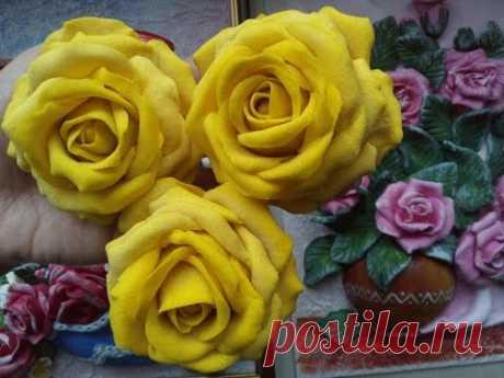 Рецепт солёного теста для лепки цветов. Как сделать розу из солёного теста