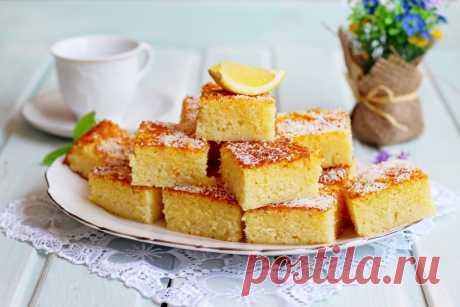 Басбуса восточная сладость - рецепт - как приготовить - ингредиенты, состав, время приготовления - Леди Mail.Ru