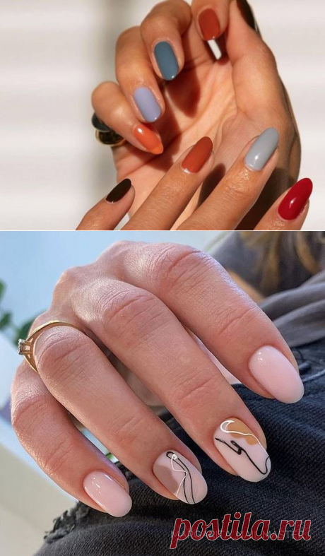 Модный маникюр 2021 на длинные и короткие ногти: 100+ фото