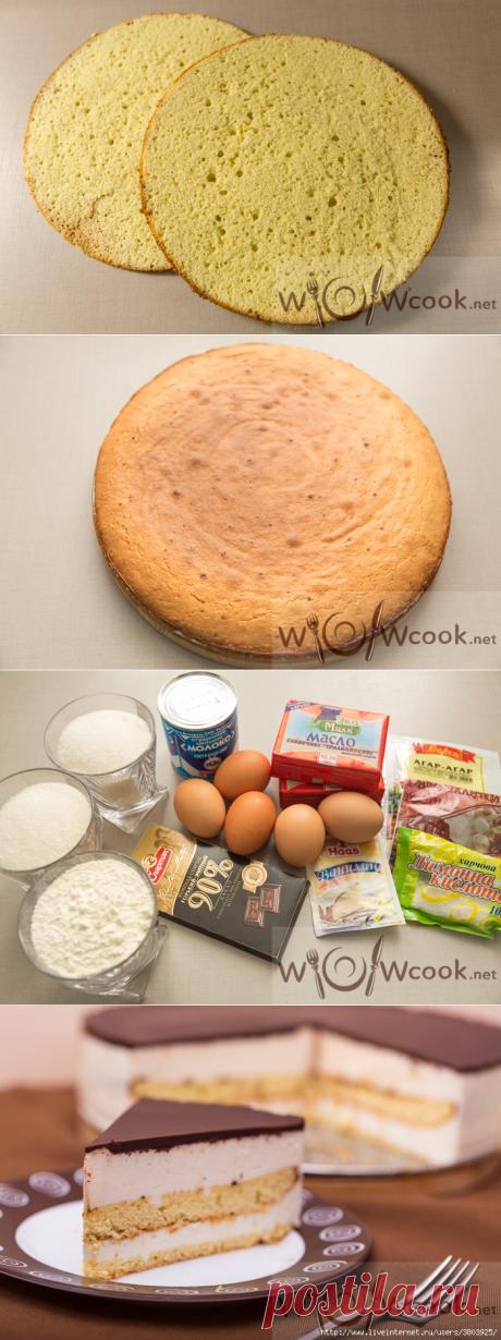 Классический торт «Птичье молоко» по ГОСТу в домашних условиях