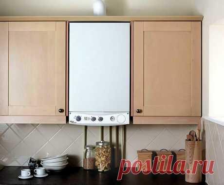 Как спрятать газовую колонку на кухне? | Про дизайн и ремонт | Яндекс Дзен