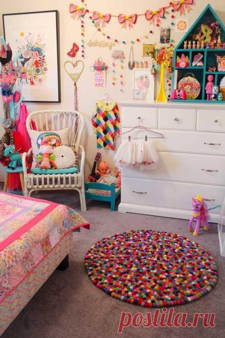 Это настоящий ВЗРЫВ ярких красок в детской комнате!