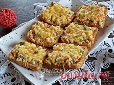 Горячие бутерброды с крабовыми палочками — рецепт с фото пошагово. Нежные и вкусные, горячие и сытные бутерброды на скорую руку.