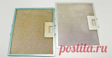 Быстрый и эффективный способ очистки решетки вытяжки от налипшего жира