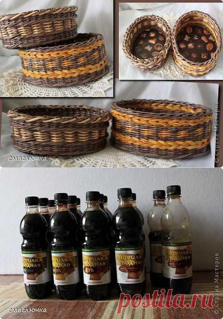 Две плетёнки для конфет.... | Страна Мастеров