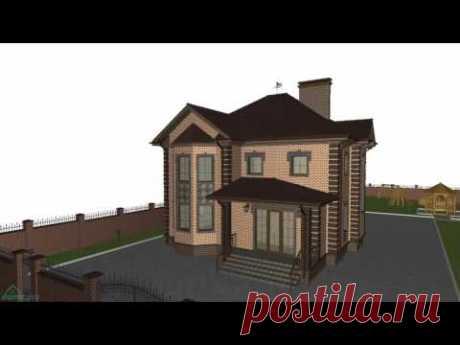 Уютный двухэтажный дом с 4-мя спальнями и террасой   D-181-ТП