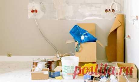 Как жить в квартире и делать ремонт: 11 способов, сделать ремонт квартиры с мебелью