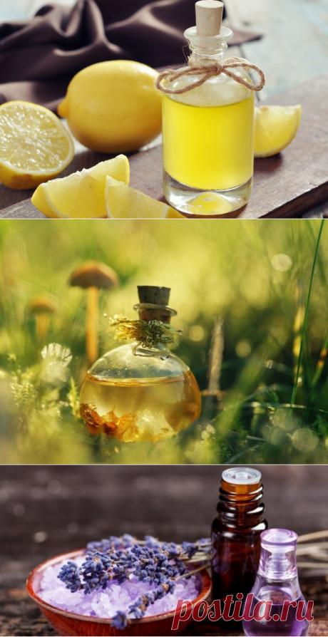 12 способов использовать эфирные масла вместо бытовой химии