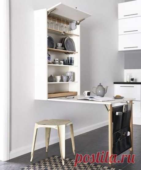 Кухонный стол-шкаф