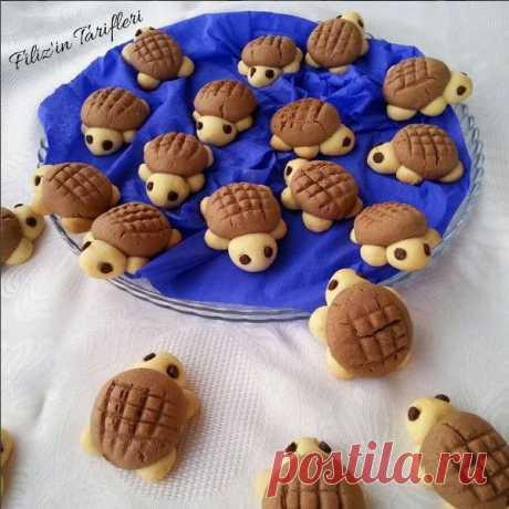 Рецепт печенья черепахи | Социальный рецепт