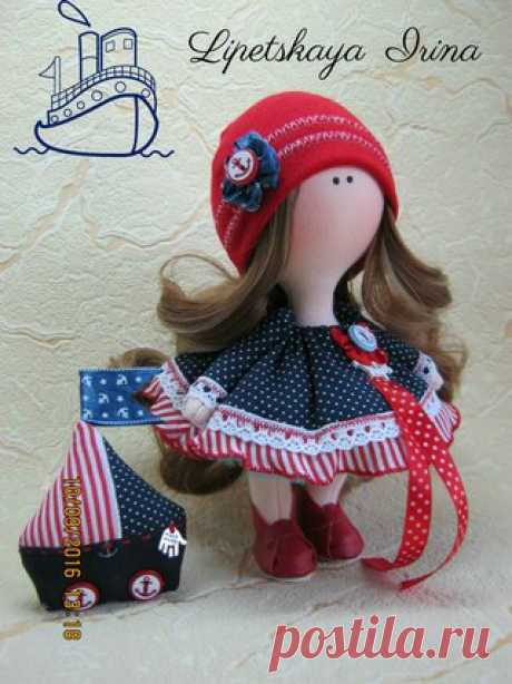 Интерьерная кукла с выкройкой