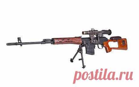 Снайперская винтовка Драгунова. За что ее называют «легендарная снайперская винтовка»? 2. Особенности конструкции | Техника и Интернет