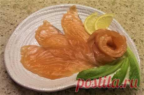 Красная рыба слабосоленая. Легкий, быстрый и очень вкусный рецепт засолки | Поделки, рукоделки, рецепты | Яндекс Дзен