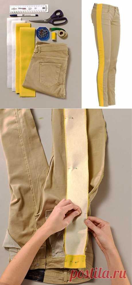 Как увеличить размер джинсов на 2 размера (DIY) / Изменение размера /