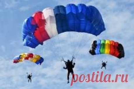 Сегодня 03 июня в 1785 году День рождения парашюта - Франсуа Бланшар продемонстрировал сконструированный им парашют