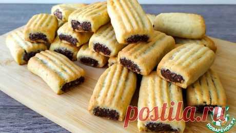 Нежное рассыпчатое печенье с начинкой Кулинарный рецепт