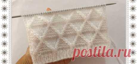 Красивый узор для мужского свитера