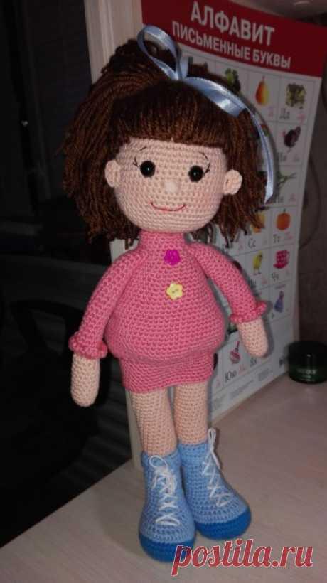 Куколка из категории Мои работы – Вязаные идеи, идеи для вязания