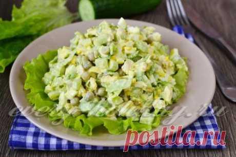 Салат похожий на оливье