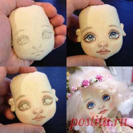 Как сшить кукле голову и лицо: выкройки с описанием и фото