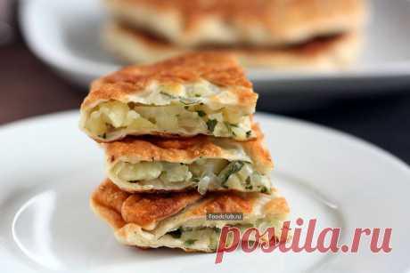 Плацинды с картошкой — рецепт с пошаговыми фотографиями на Foodclub.ru