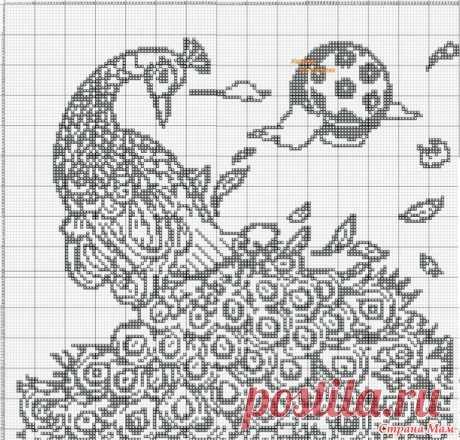 Филейные схемы - Вязание - Страна Мам