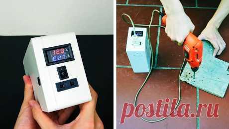 Как сделать аккумулятор на 220 В 50 Гц На пикнике часто не хватает бытовой техники, работающей от сети 220 В. Сделав такой аккумулятор, вы сможете питать ее от него. Подобная батарея, сделанная своими руками, также выручает, если случаются перебои в электроснабжения, позволяя не испытывать дискомфорт от этого. Материалы: Компактные