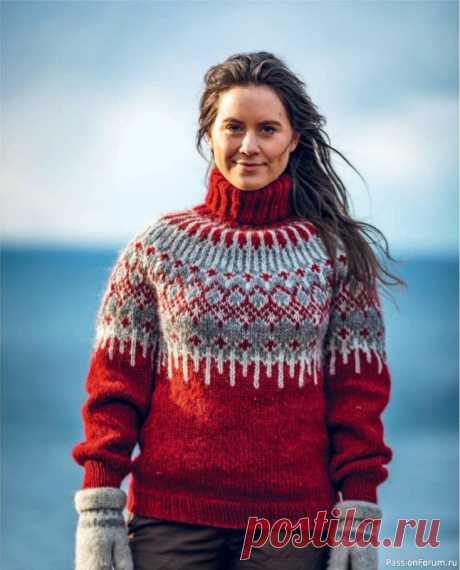 Норвежское бесшовное вязание. Часть 1   Вязание для женщин спицами. Схемы вязания спицами