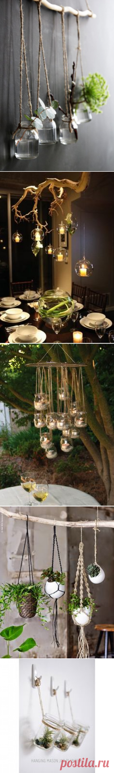 10 ways to decorate with branches   Декор