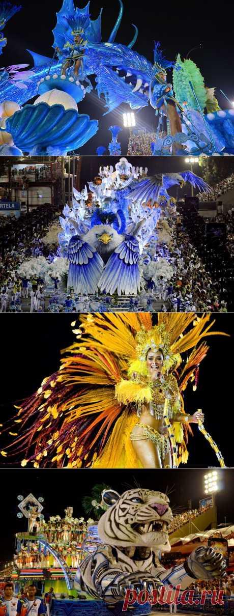 Карнавал в Рио-де-Жанейро 2014 | В мире интересного