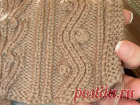 Способ вязания шишечек без поворота работы | Knitting club // нитин клаб