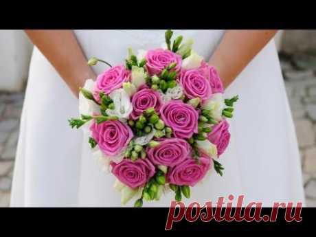 Свадебные цветы из фарфора и глины своими руками. Robinzon.TV - YouTube