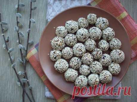 Конфеты из сухофруктов и орехов — Sloosh – кулинарные рецепты