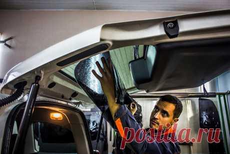 5 правил ухода за тонированными стеклами авто