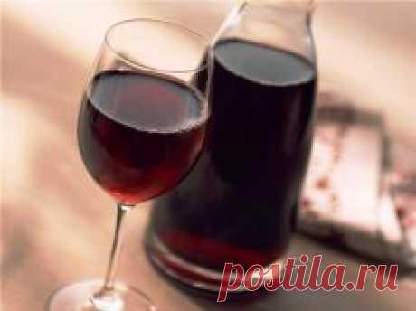 Малиновое вино - рецепт