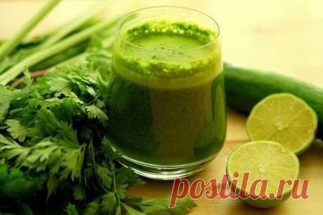 Зеленый коктейль для похудения — Мегаздоров