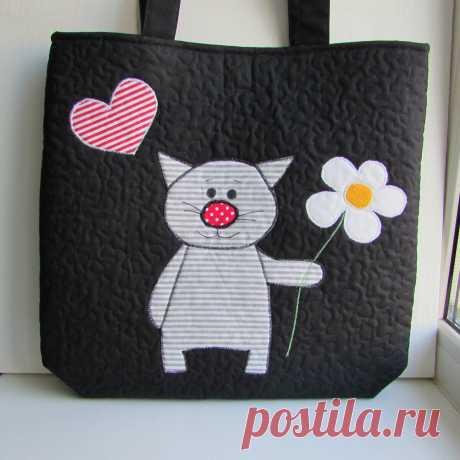Сшила себе сумку для покупок - получилось дёшево и сердито! | Текстильные фантазии | Яндекс Дзен