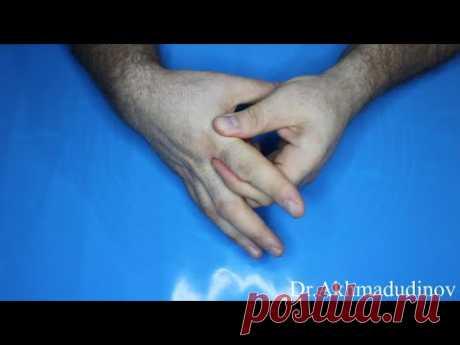 Артроз пальцев кистей рук, разработка, реабилитация, профилактика. Ахмадудинов А.М.